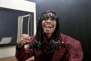 Dave Chapelle as Rick James