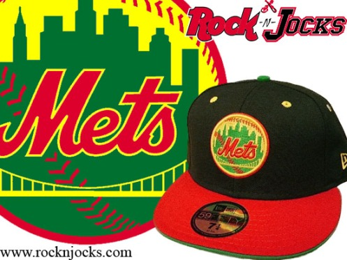 "New York Mets Custom ""Rastafari\"""
