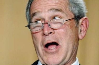 President Bush poked fun at his potential successors Saturday night, expressing surprise that none of them were in the audience at the White House Correspondents\' Association annual dinner.