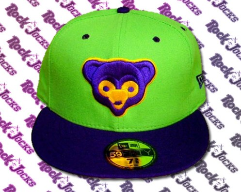 New Era Glow In the Dark Teddy Bear Fitted