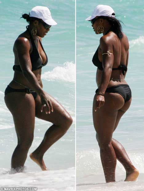 serena williams photos beach