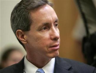 Warren Jeffs looks toward the jury in his trial in St. George, Utah, September 25, 2007.