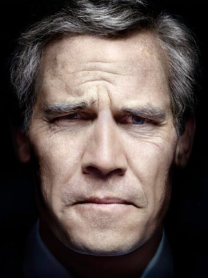 JOSH BROLIN AS GEORGE W. BUSH   PHOTOGRAPH BY PLATON
