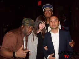 The Wire's Alfonso Christian Lover, Nancy, Rik & Fly Williams
