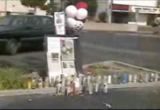 vigil for Michael