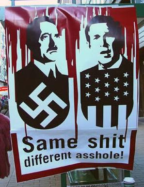 Bush=Hitler?