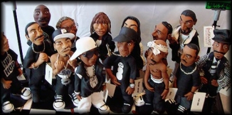 Hip Hop Chess Pieces