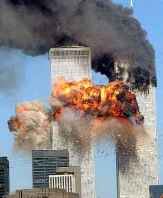 why did Bush knock down the Towers?