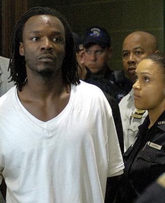 Accused cop killer Lee Woods