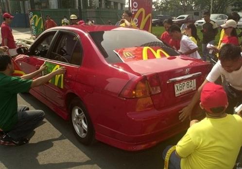 McDonalds to power Manila\'s police cars