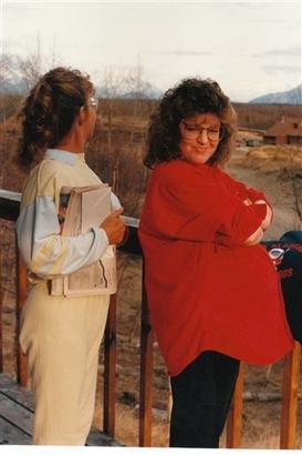 Sarah Palin pregnant in Wasilla, Alaska. Republican presidential candidate ...
