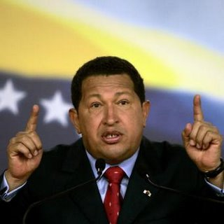 Venezuela's leftist President Hugo Chavez said on Saturday it was the capitalist system that had caused the financial crisis in the United States and the country should come up with a new constitution.