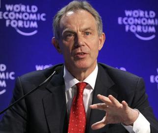 Tony Blair: Former prime minister of Britain