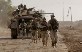 """Toward the end, we were so mad and tired and frustrated,"" said Daniel Freeman. ""You came too close, we lit you up. You didn't stop, we ran your car over with the Bradley,"" an armored fighting vehicle. AP"