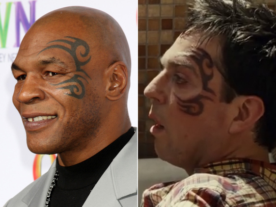 mike tyson face tat artist sues hangover 2 producers street knowledge. Black Bedroom Furniture Sets. Home Design Ideas